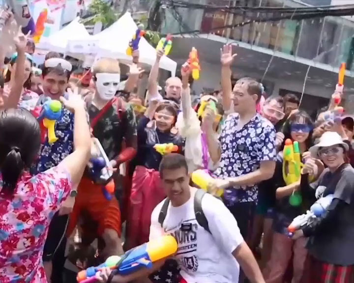 Songkran Siam, April and Traditional Waistcloths