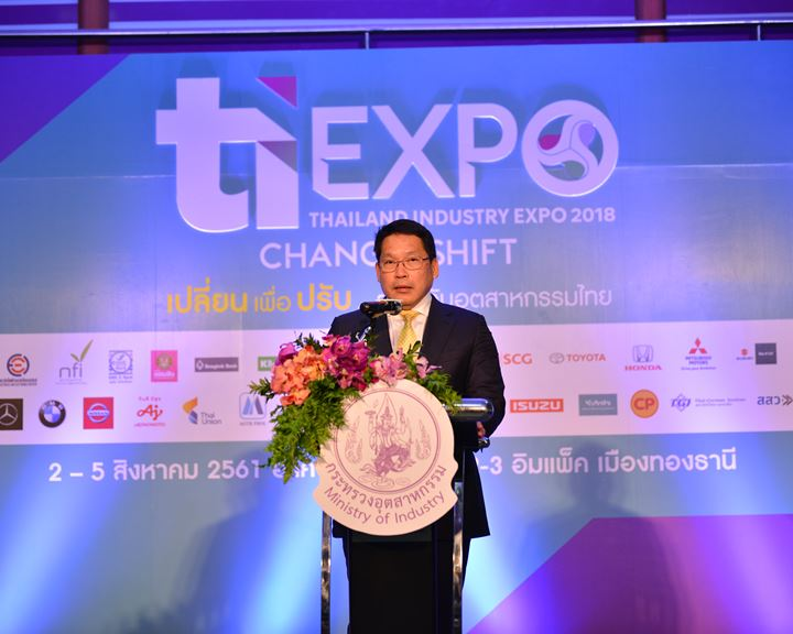 Thailand Industry Expo 2018 Change to Shift